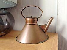 Vintage Art Deco Copper Ships Kettle or Teapot