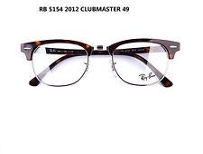 RayBan Eyeglass frame RB RX 5154 2012 Clubmaster Tortoise Frame Silver Rim 49mm