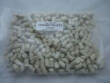 "Ceramic Tumbling Media Rock Tumbler Lapidary Filler - Large 3/8"" x 5/8""- 2Lb"