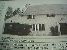 ephemera 1977 advert property walnut tree farm little chart
