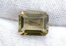10x8 10mm x 8mm Emerald Octagon Brazilian ORO DE VERDE Citrine Gem Gemstone