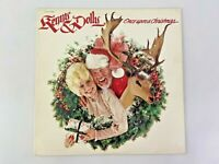Kenny & Dolly Once Upon A Christmas Vinyl LP Record Album RCA 1984