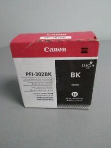 Canon PFI-302BK Black 2216B001A - original - ink tank - for imagePROGRAF iPF9100
