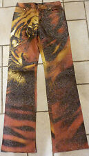 AUTHENTIC RARE ROBERTO CAVALLI TIGER JEANS!!! SIZE M!!! MADE IN ITALY!!!