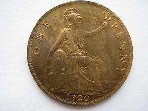 1920 Penny, A UNC.