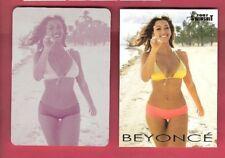 Beyonce Sports Illustrated Swimsuit Bikini Printing Plate #d 5/20 & Card 2007 Si