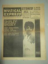 NME #1011 MAY 27 1966 JIM REEVES MARK WYNTER SHIRLEY BASSEY MICK JAGGER ROY C
