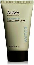 Menge Von 3 AHAVA Aktiv Dead Sea Wasser Mineral- Bodylotion Unisex 38.4ml Neu