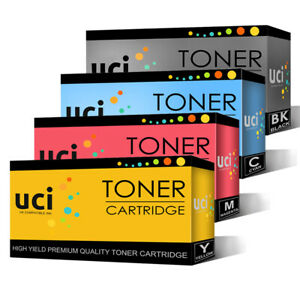 4 Toner UCI Brand fits for hp 201X Color Laserjet Pro MFP M277dw M277n M252dw