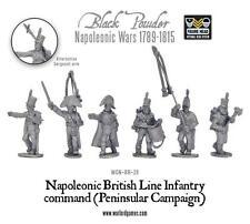 Black Powder Napoleonic British Line Infantry Command Peninsular war Warlord new