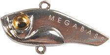 LEURRE LAME MEGABASS PICCOLA  gun metalic