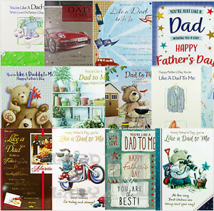Like A Dad To Me - Father's Day Card Fathers - Various Designs Available