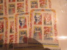 TIMBRE FRANCE NEUF 1990 Bloc feuillet n° 12 Bicentenaire vendu à faciale