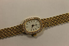 Women's Baume and Mercier 18k Gold and Diamond Watch