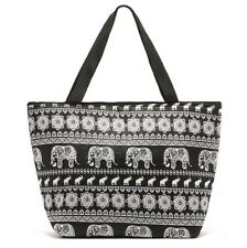 Handy Light weight Elephant Design Tote Thermal Lunch Bag