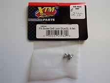 XTM Racing Parts - F/h Screw 3x6 Lock Glue (5 pcs) x-fac - Model # 148544-Box 2