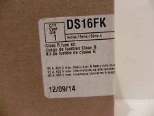 EATON Cutler Hammer Class R Fuse Adapter kit DS16FK - 30A 600V DH, DT, 60A 240V