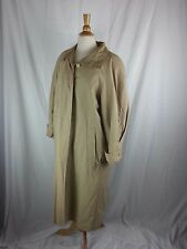 Sanyo Fashion House Carol Cohen Khaki Cotton Nylon Trench coat Size 8 USA