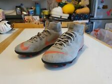 Nike mercurial Football Boots Size 4.5 (Grey)