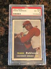 1957 Topps Frank Robinson Cincinnati Reds #35 Baseball Card PSA 6