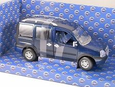 FIAT DOBLO MALIBU in Blue 1/24 scale model by NOREV