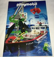 Playmobil original catálogo folleto de 2005/2006, Top