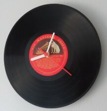 "Wall Clock Original 10"" Vinyl Record HIS MASTERS VOICE Great Birthday Gift"
