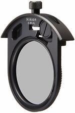 Nikon C-PL1L Slip-in 52mm Circular Polarizing Filter New