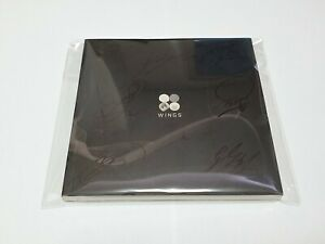 BTS Wing signed Album, ALL7 Signed Promo CD