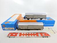 CE904-0,5# 2x Roco H0/DC 4339 Kühlwagen/Güterwagen 083 9 999-8 DB NEM, OVP