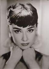Audrey Hepburn 24x34 Classic Black & White Movie Art Poster