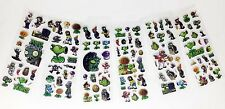 car& Plants vs Zombies PVC Puffy Stickers Kids Birthday Party Gifts12 sheets/lot