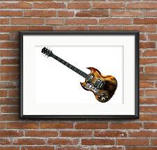 Tony Iommi's Jaydee 'Old Boy' - POSTER PRINT A1 size