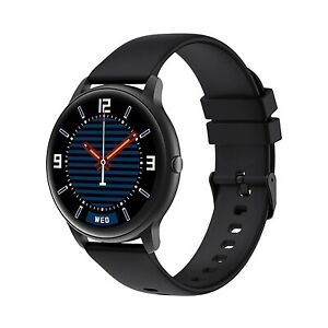 NEW! Imilab KW66 3D Hd Curved Screen Smartwatch Ios/Android Black