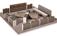 More details for faller 180565 shop supermarket shelves display interior led lighting ho oo gauge