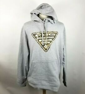 NWT Columbia PHG Extra Large Hunting Hoodie Camo Crest Gray
