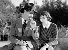 Clark Gable Claudette Colbert Photo from the 1934 movie It Happened One Night