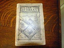 Under the Deodars Rudyard Kipling Indian Railway Library