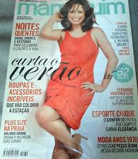 MANEQUIM  BRAZILIAN MAGAZINE 670 - JANUARY 2015 W/ SEWING PATTERNS