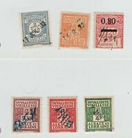 France  fiscal Revenue stamp 12-22- --- 11 stamps  Alsace