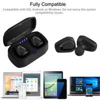 Mini Wireless Sport Earbuds Headset Bluetooth HIFI In Ear Stereo Headphone Lot E