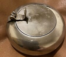 More details for antique silver personal ashtray