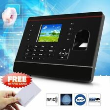 2018 Realand Fingerprint Time Attendance Clock TCP/IP USB + 10PCS RFID Cards