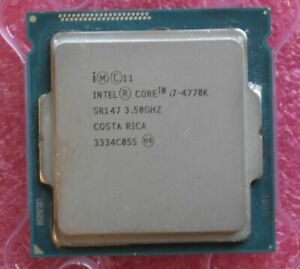 Intel  Core i7-4770K / SR147 , 4x3.5GHz, 8MB,  FCLGA1150