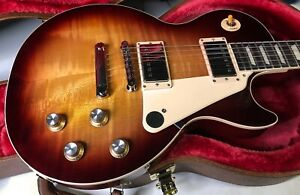 2020 Gibson Les Paul 60's Standard Unplayed Mint! Original Case Bourbon Burst