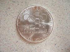 1976 SCELLINO austriaco Argento 100 MONETA... OLIMPIADI INVERNALI... bunc... addizionale