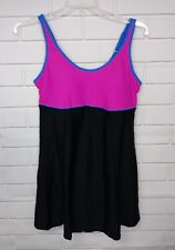 NEW SWIMSUITS FOR ALL 1 PC SWIMSUIT SWIMDRESS SZ. 14 NWT