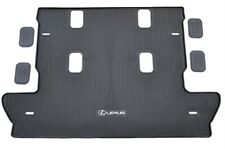 Lexus Oem Factory All Weather Rear Cargo Mat 2008-2020 Lx570 Black (Fits: Lexus)