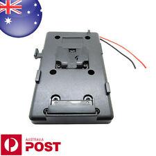 External Back Pack Plate Adapter for Sony V-shoe V-Mount V-Lock Battery - Z310