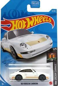 2021 Hot Wheels Mainline #016 - 1996 Porsche Carrera 993 (White) GRY11